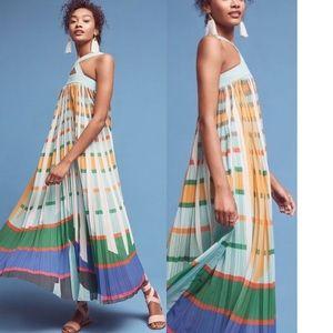 {Anthro} Geisha Designs Abstraction Maxi Dress